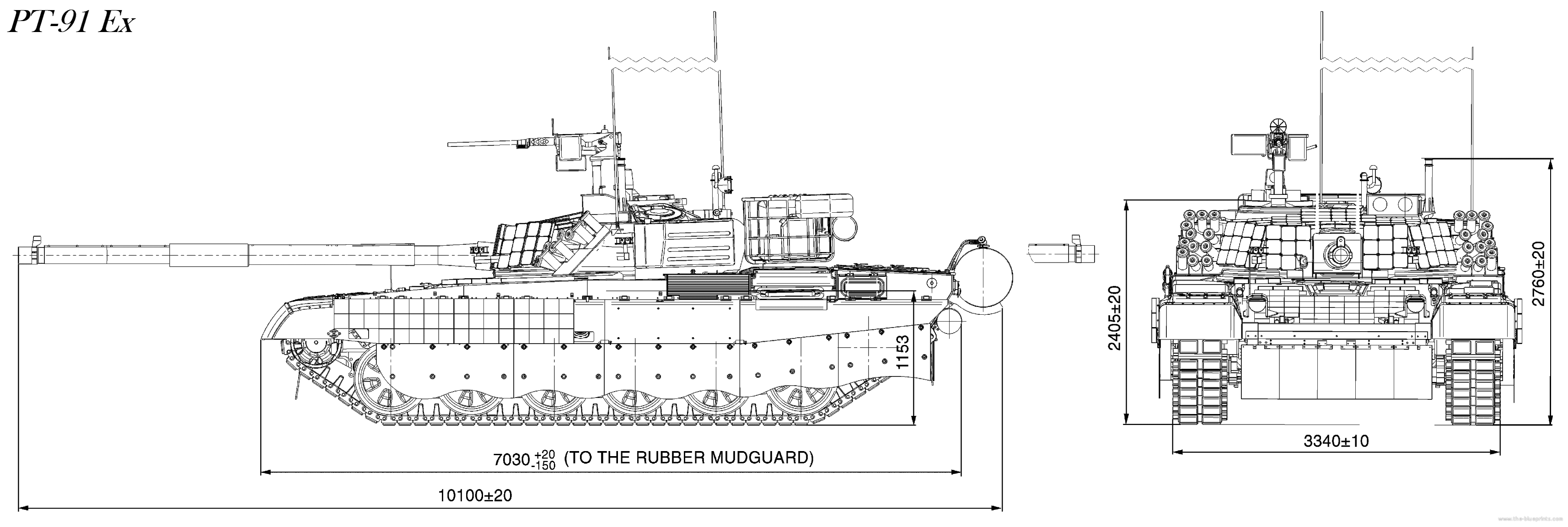 Tank Twardy PT 91 Ex