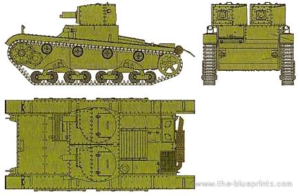 Nova marca: Minairons Vickers-model-e-6-ton-light-tank