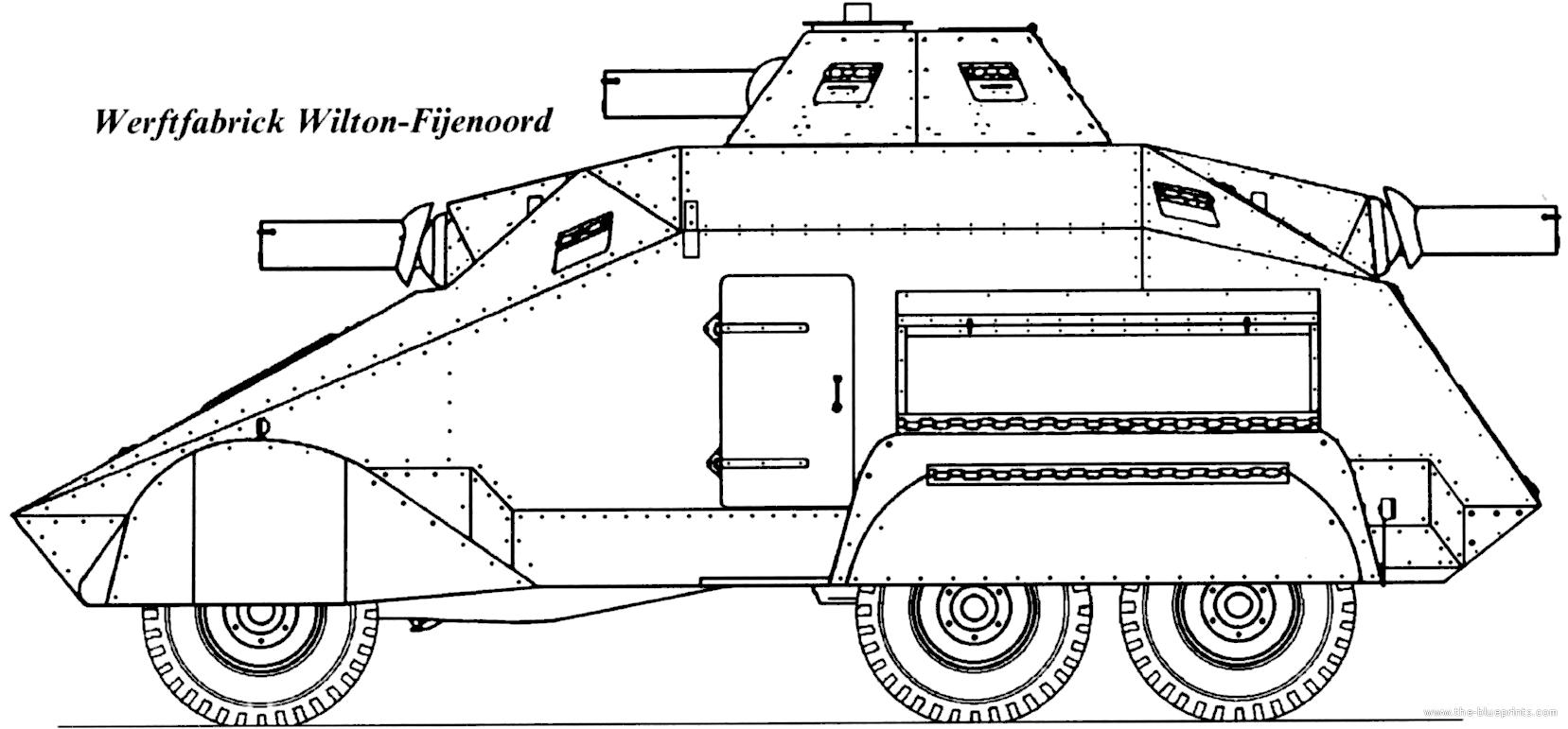 Blueprints > Tanks > Tanks U-Z > Wertfabrik Wilton-Fijenoord