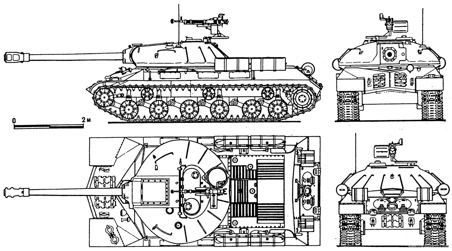 Танк прошел испытания в конце 1944 года и поступил в производство, причем производство ИС-2 не снижалось.