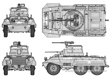 Blueprints > Tanks > WW2 Tanks (US) > M8 Greyhound Armored Car