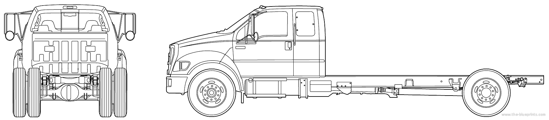 free ford truck coloring pages - photo#27