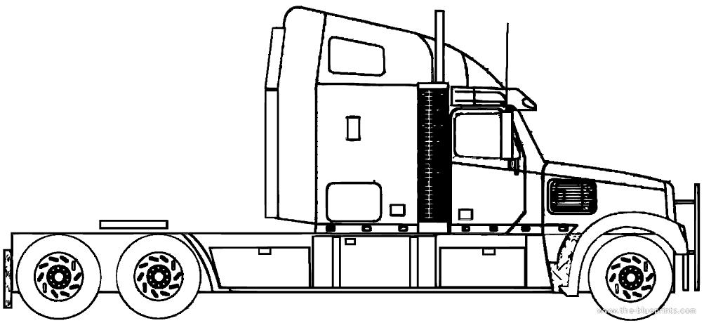 blueprints  u0026gt  trucks  u0026gt  freightliner  u0026gt  freightliner roadtrain