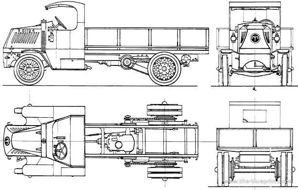 blueprints  u0026gt  trucks  u0026gt  mack  u0026gt  mack ac 5ton truck  1918