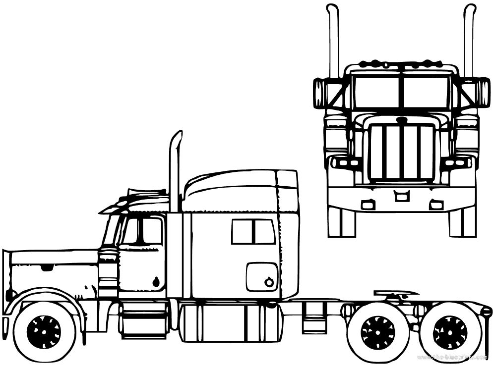 Tractor Trailer Truck Black And White Gm160352461 15811086 additionally Tractor Trailer Coloring Pages likewise Draw A Truck together with Mack Truck Coloring Pages Beautiful Tractor Trailer Coloring Page Epic Truck And Trailer Coloring moreover Truck And Trailer Coloring Pages. on kenworth semi trucks
