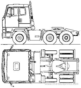 Leyland_t45_6x2_tractor