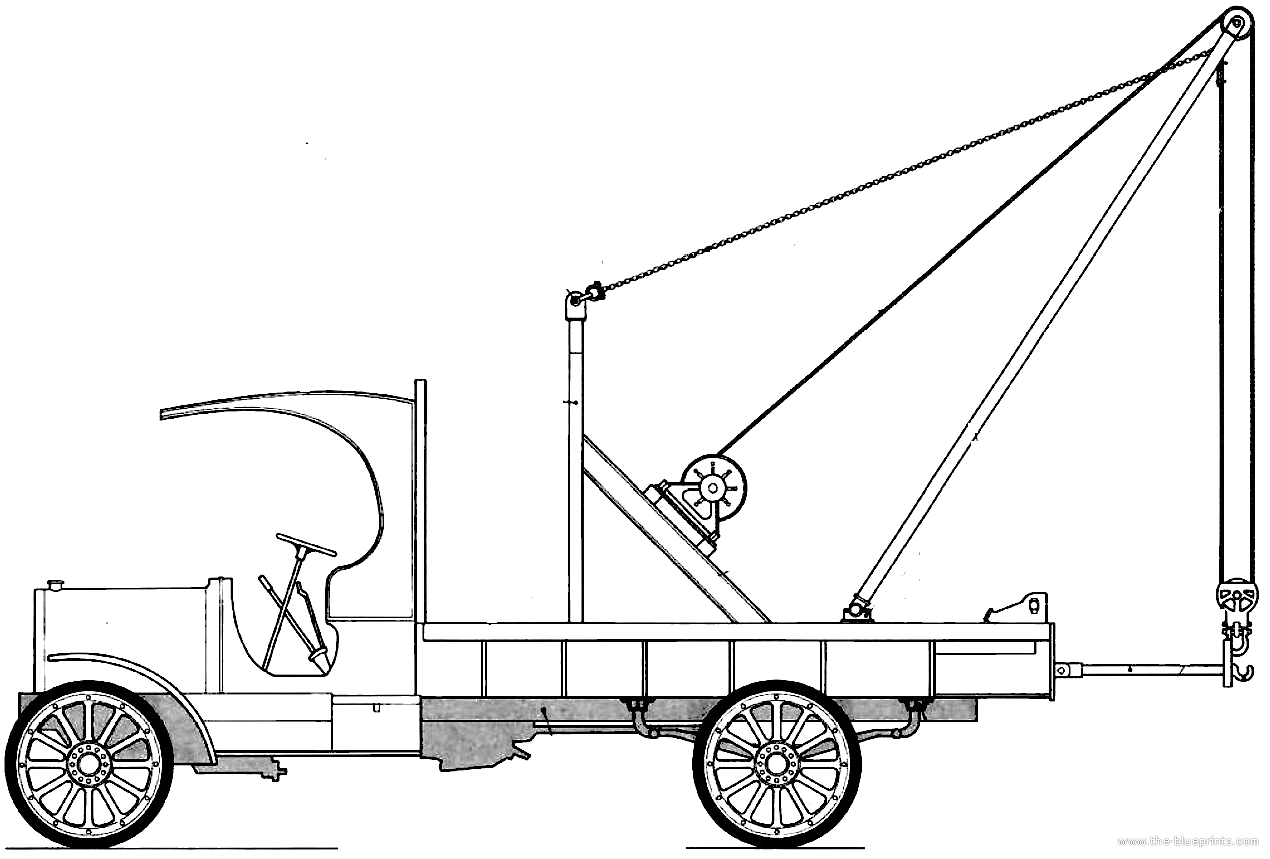 Stutz Bearcat Boom Truck