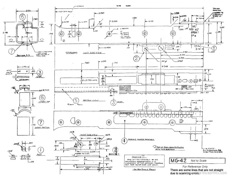 Thompson Gun Blueprint Related Keywords & Suggestions - Thompson Gun