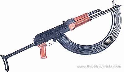 Blueprints > Weapons > Rifles > AK-47