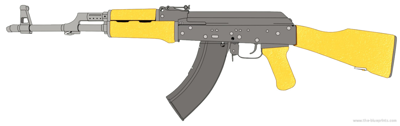 Как сделать ak-47 из фанеры