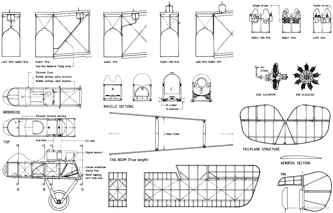 Airco DH 2 Plans http://www.the-blueprints.com/blueprints/ww1planes/ww1-english/38309/view/airco_dh2_%28with_fuse_sections%29/