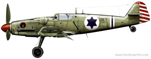 blueprints ww2 airplanes avia avia s 199 sakin