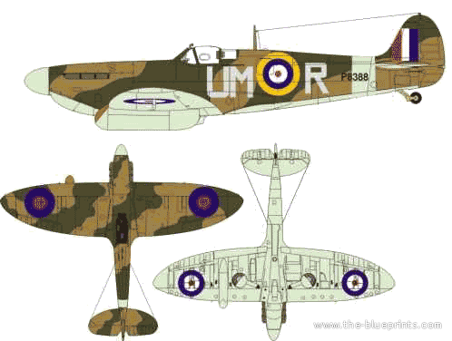 The-Blueprints.com - Blueprints > WW2 Airplanes ...