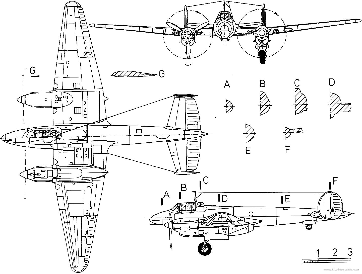 Blueprints ww2 airplanes ww2 russian petlyakov pe 3 petlyakov pe 3 malvernweather Images