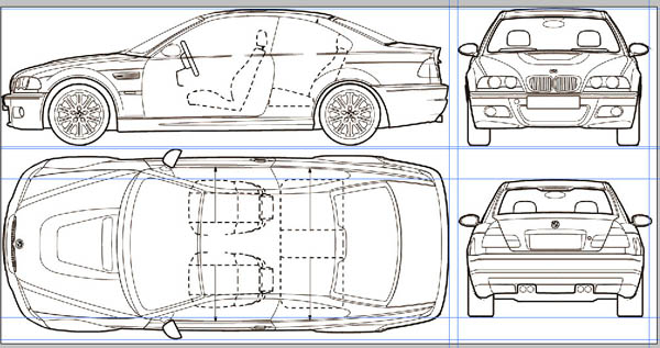 Setting up blueprints in maya to model a bmw m3 page 1 polygon setting up blueprints in maya to model a bmw m3 page 1 polygon modeling tutorials for maya malvernweather Choice Image