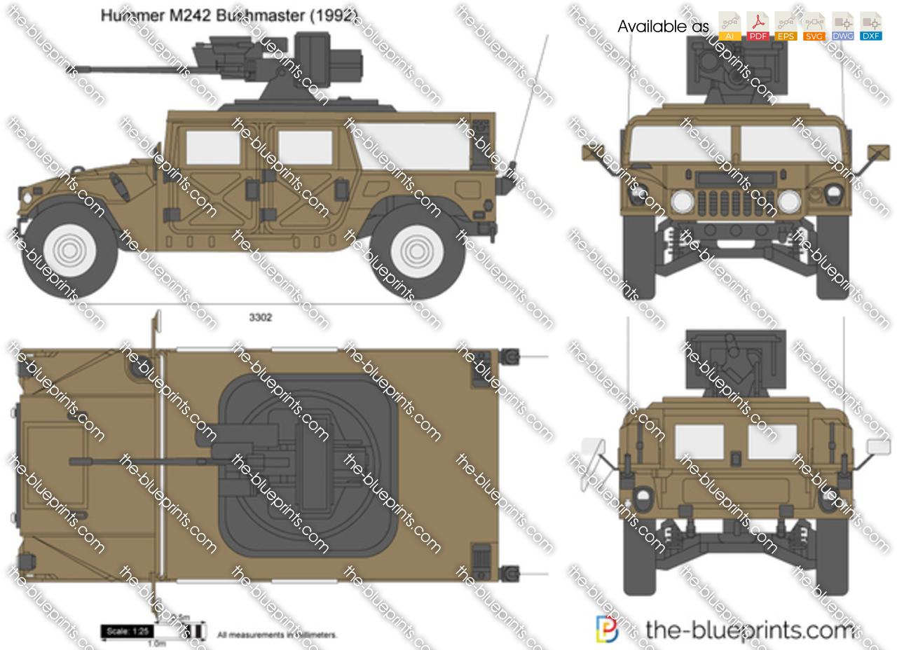 1991_hummer_m242_bushmaster Halo Headlights Wiring Diagram Pdf on