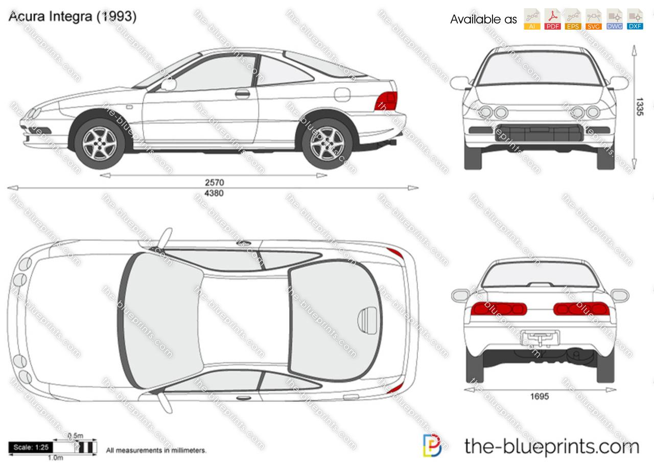Atemberaubend Acura Integra Schaltplan Zeitgenössisch - Schaltplan ...
