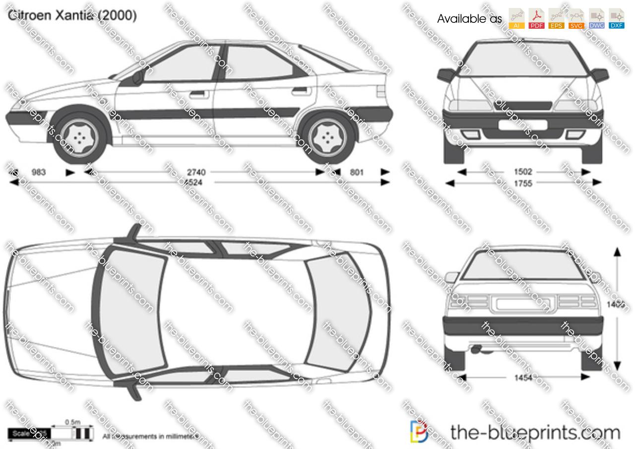 Dessin vectoriel en ligne cration en ligne d images vectorielles dessin vectoriel en ligne the blueprints vector drawing citroen xantia malvernweather Choice Image