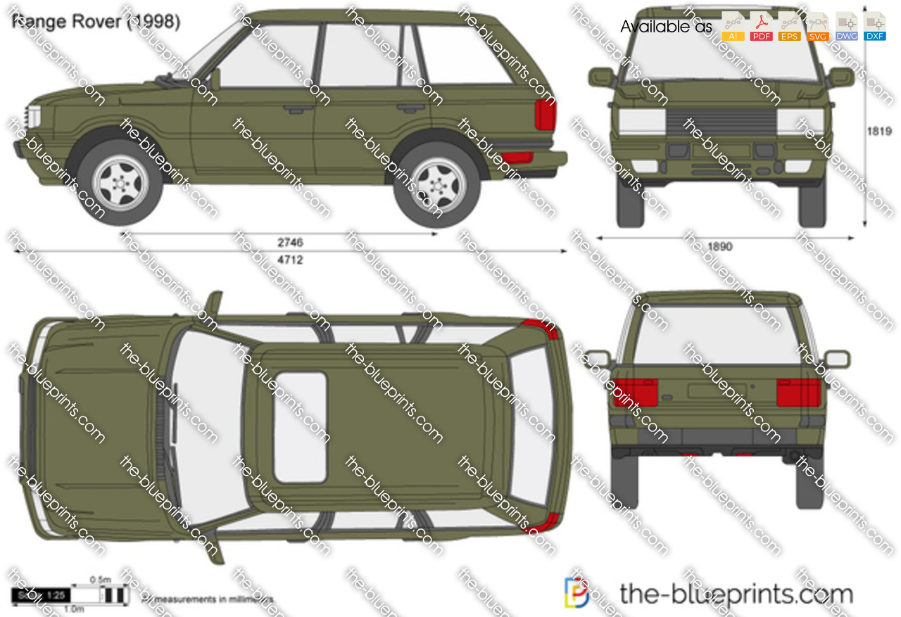 the vector drawing range rover. Black Bedroom Furniture Sets. Home Design Ideas