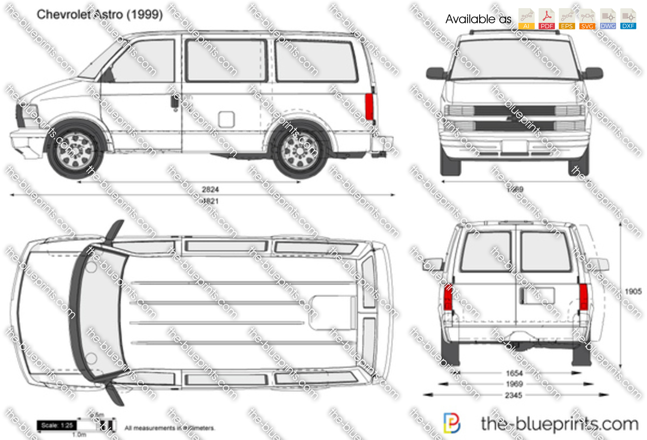 Chevrolet Astro Cargo Van Interior Dimensions Www Inpedia Org