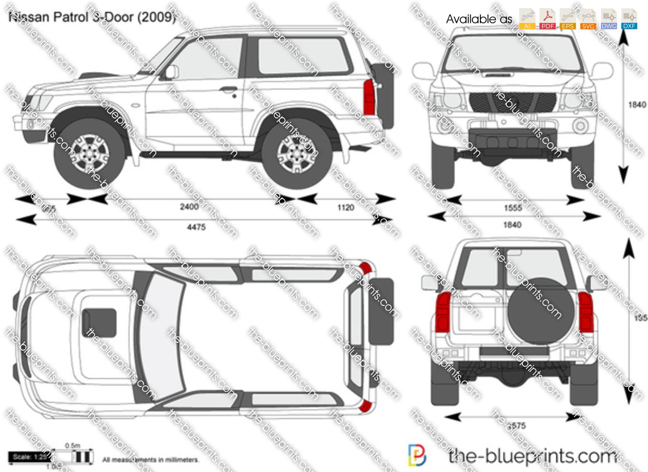 Nissan patrol dimensions