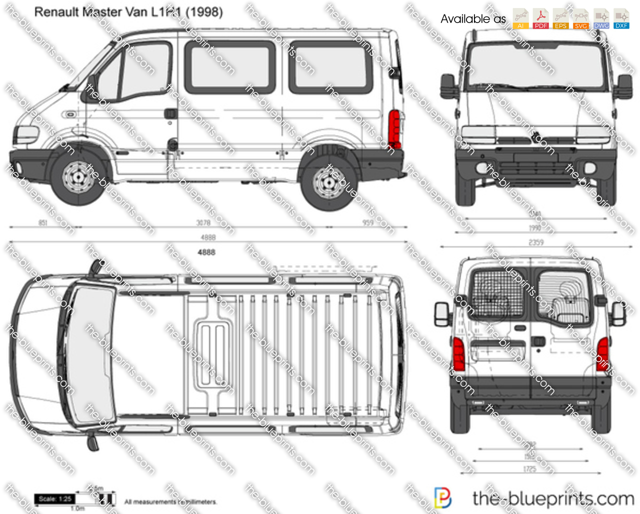 renault trafic van dimensions nike air le presto des. Black Bedroom Furniture Sets. Home Design Ideas