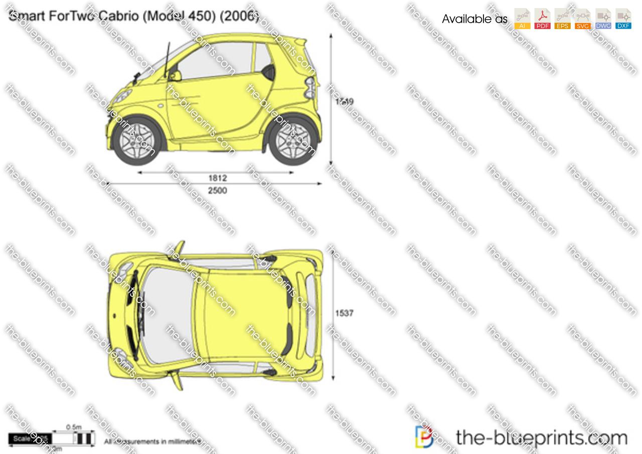 Smart Fortwo Cabrio Model 450