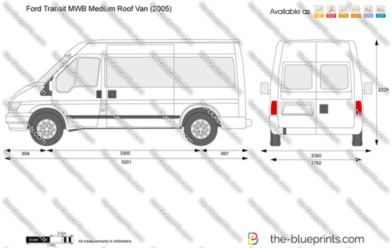 Ford transit mwb medium roof van
