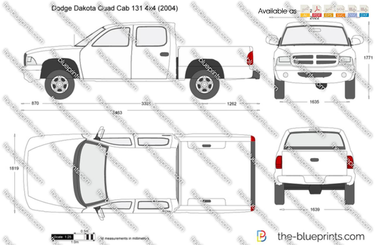 Dodge Dakota Crew Cab Bed Size