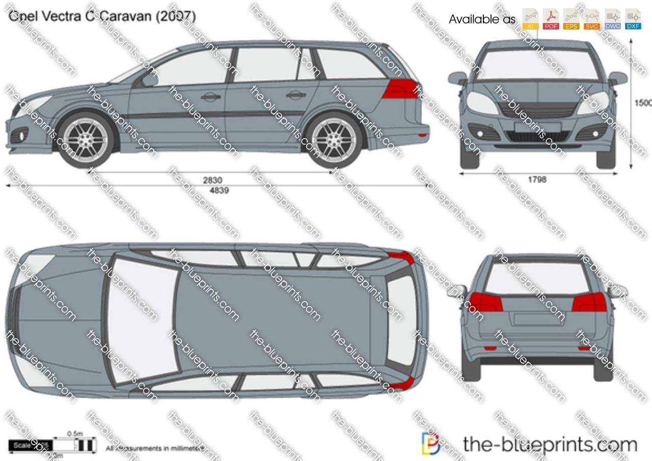the vector drawing opel vectra c caravan. Black Bedroom Furniture Sets. Home Design Ideas