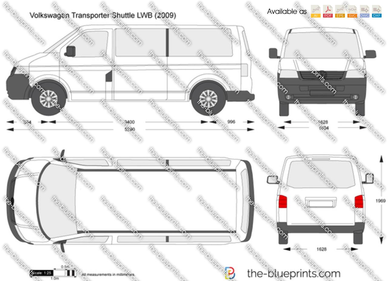 Volkswagen Transporter T5 Shuttle Lwb