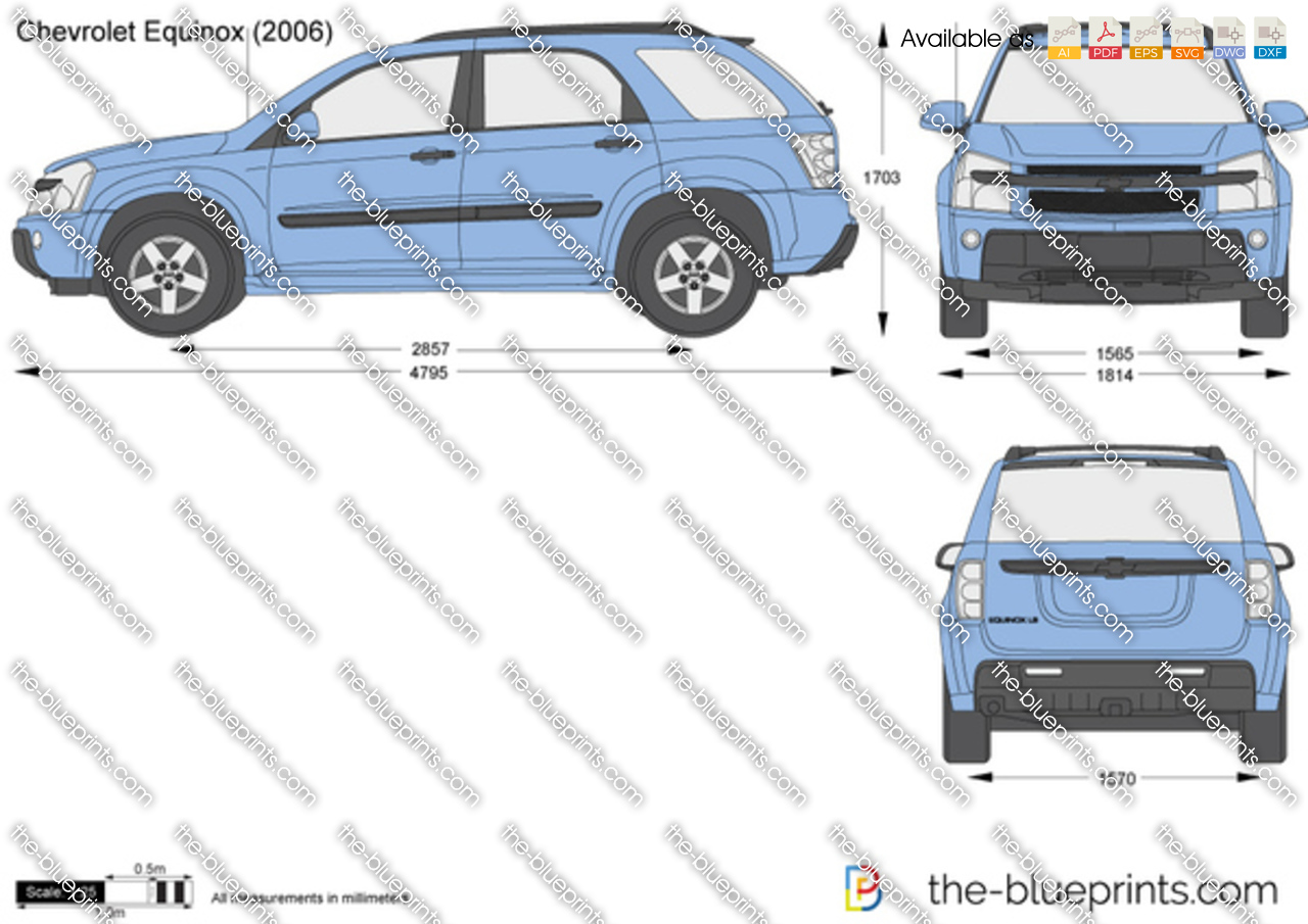 Chevrolet Equinox Vector Drawing 2008 Mitsubishi Outlander Fuse Box