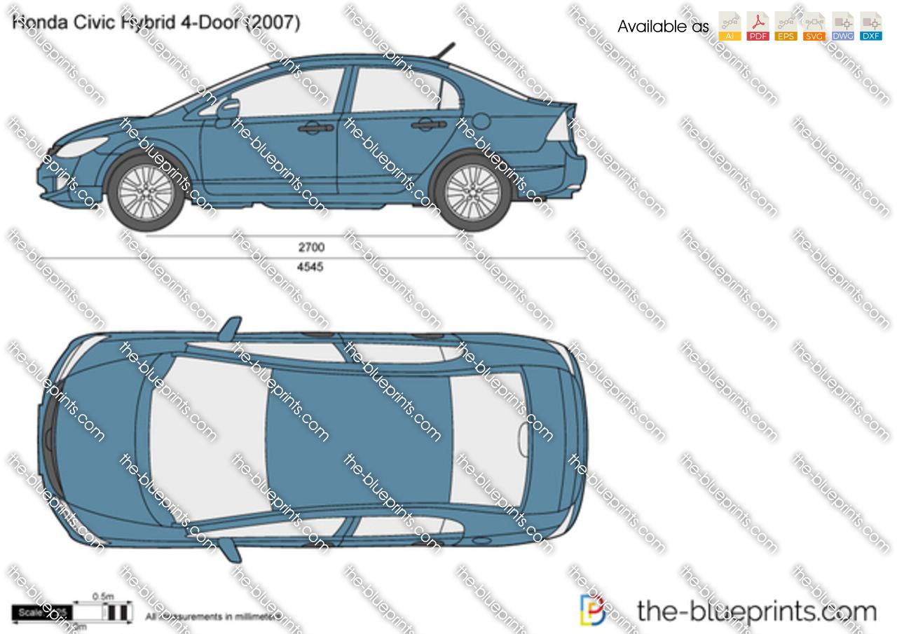 Honda Civic Hybrid Door