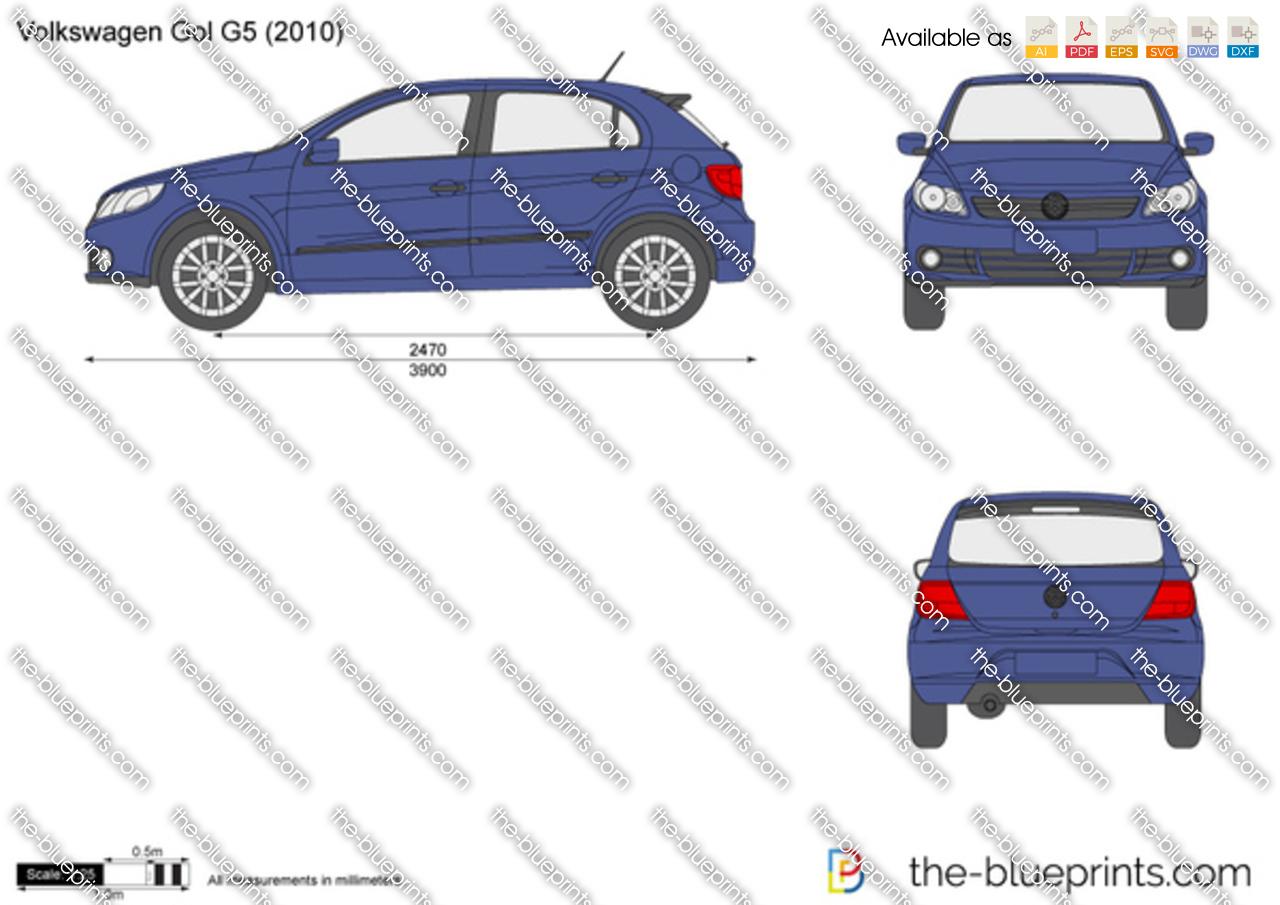 Volkswagen gol g5 vector drawing volkswagen gol g5 volkswagen malvernweather Gallery