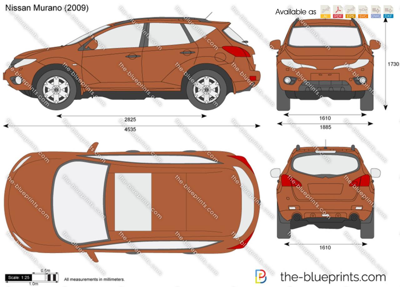The Blueprints Com Vector Drawing Nissan Murano