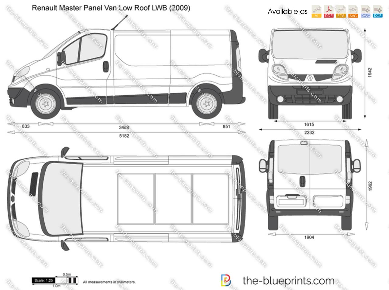 Renault trafic lwb dimensions