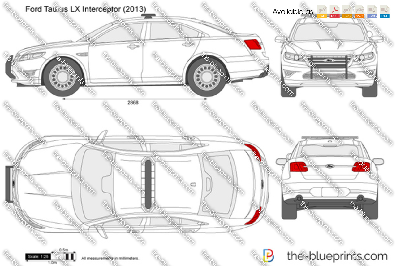 Ford taurus lx police interceptor