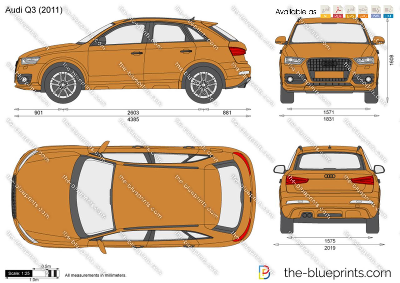 The Blueprints Com Vector Drawing Audi Q3