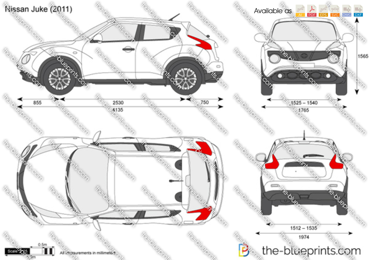 Nissan juke vector drawing nissan juke malvernweather Choice Image