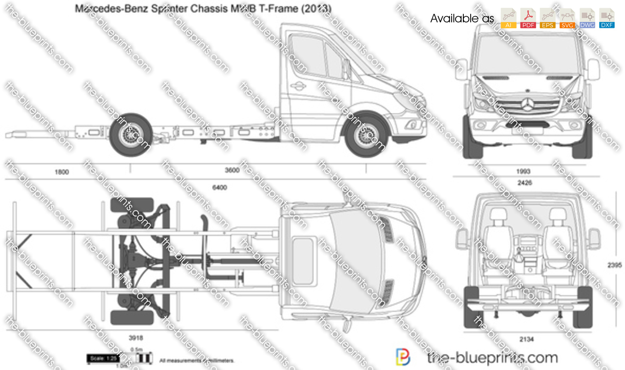 Mercedes Benz_sprinter_chassis_mwb_t Frame on 2014 Mercedes Benz Sprinter