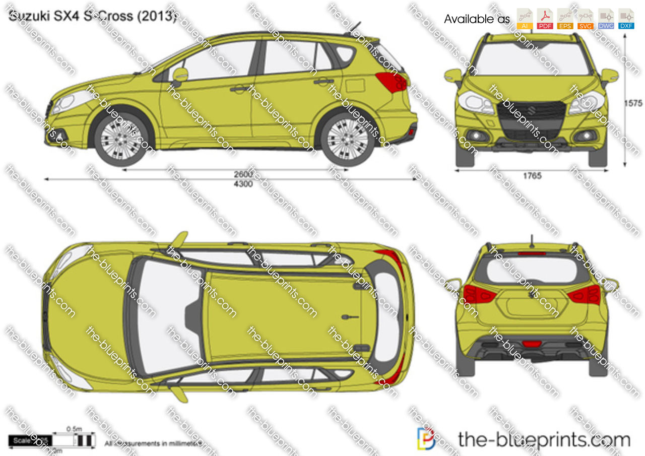 Dimensions Of Suzuki Vitara