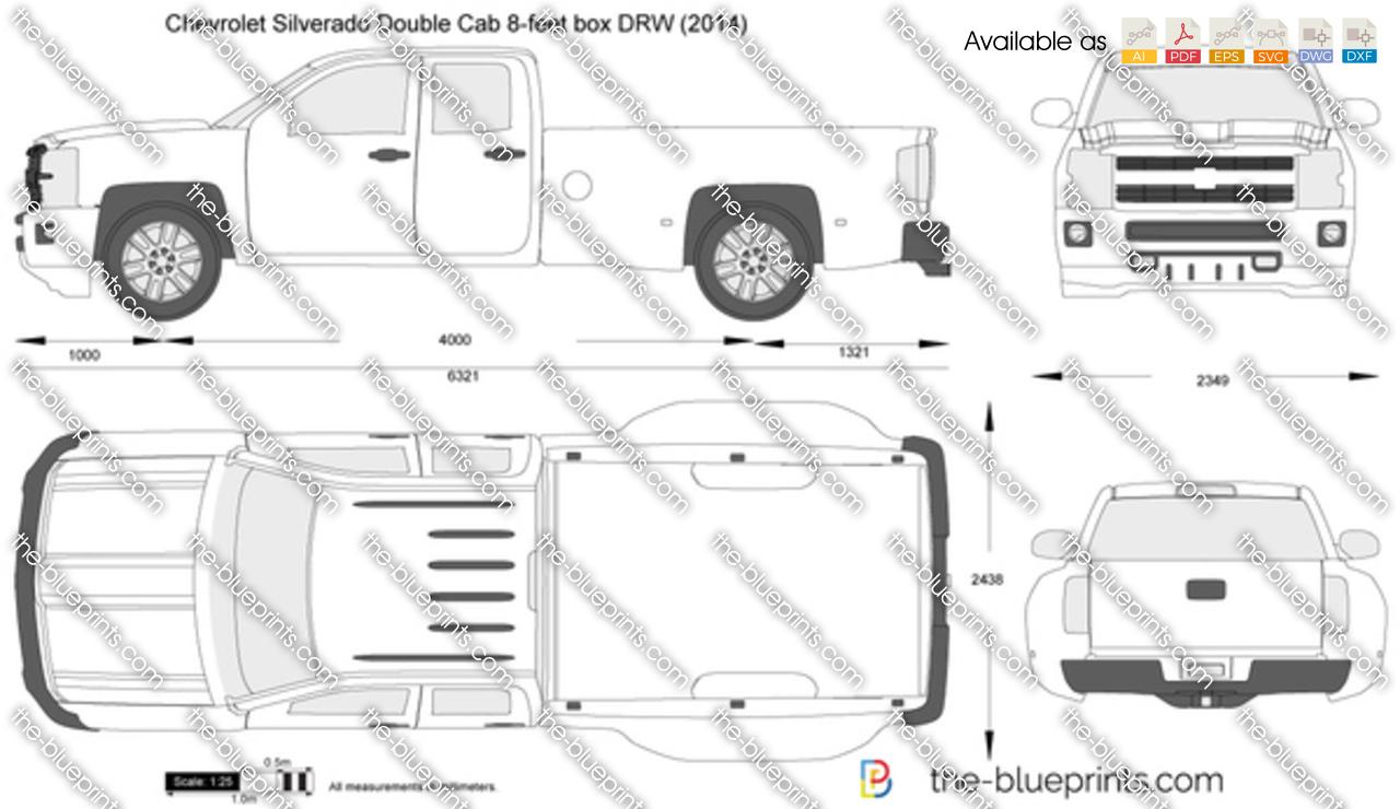 chevrolet silverado double cab 8