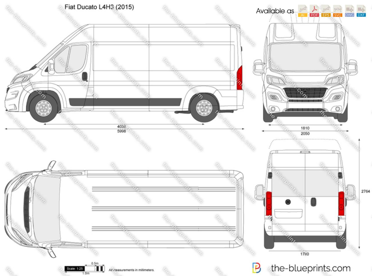Fiat ducato dimensions