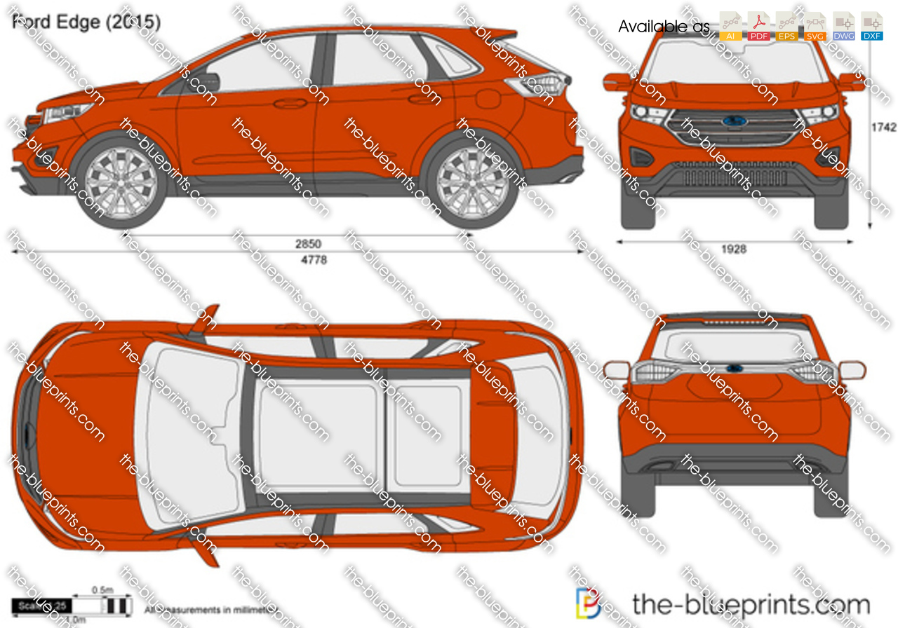 Ford Edge on Ford Ranger Blueprint