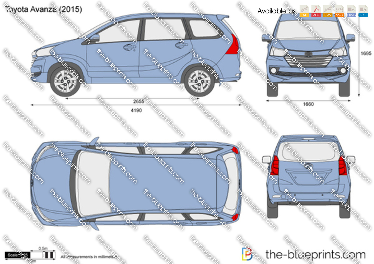 Toyota avanza vector drawing 2015 toyota avanza malvernweather Choice Image