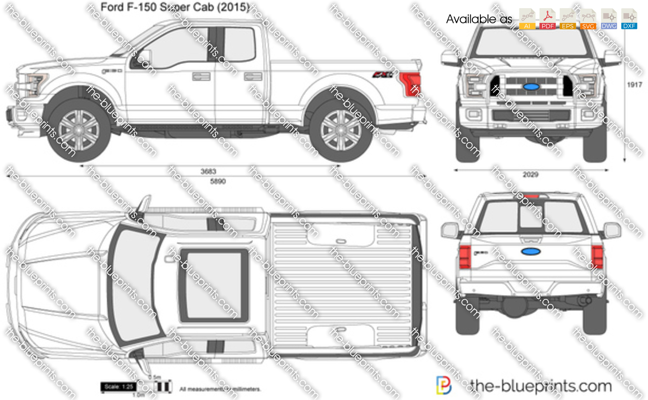 2017 ford f 150 crew cab dimensions new cars review. Black Bedroom Furniture Sets. Home Design Ideas