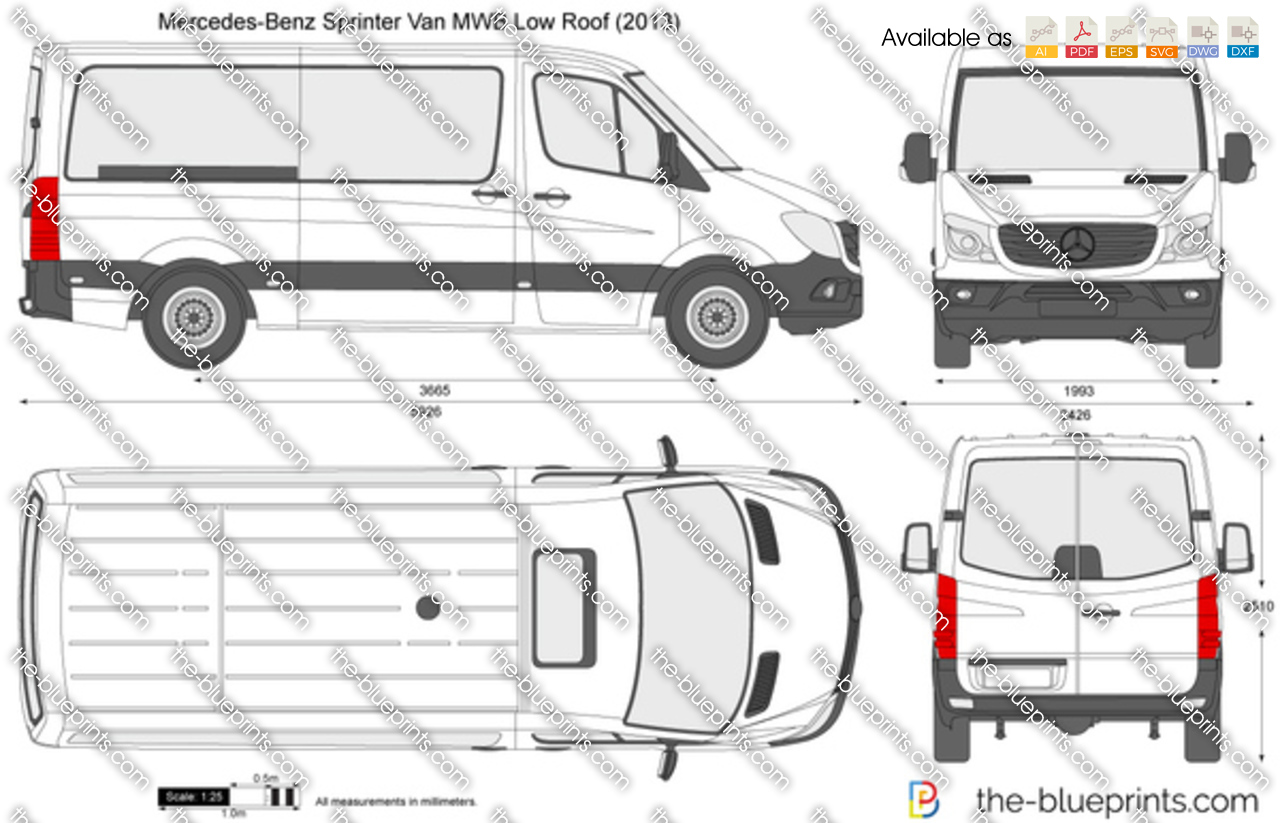 Mercedes Sprinter  Mid Specifications