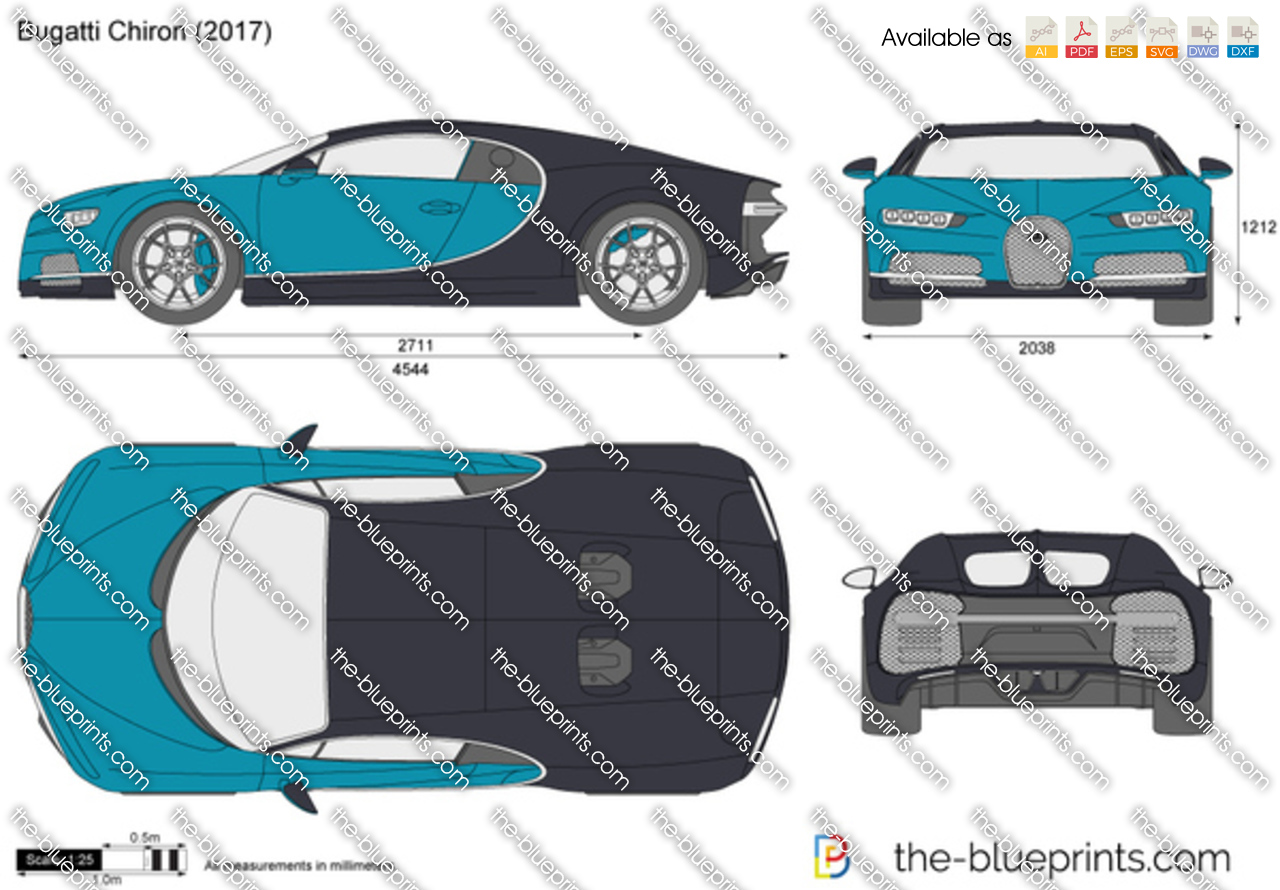 Bugatti chiron vector drawing bugatti chiron malvernweather Choice Image