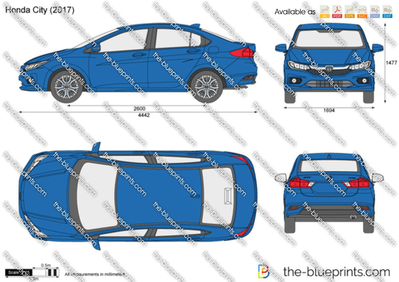 Honda city vector drawing honda city malvernweather Gallery