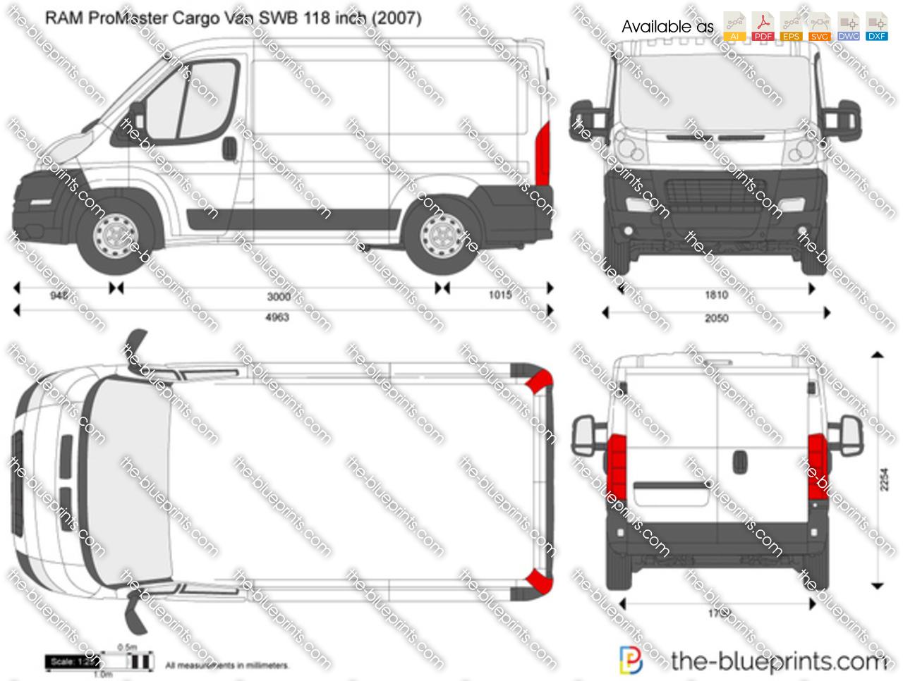 ... 2017 RAM ProMaster Cargo Van SWB 118 Inch ...